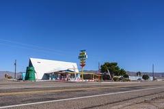 USA 4233-16 Route 66, Ranchero Motel Royalty Free Stock Photo