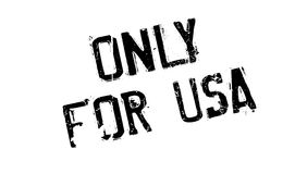 Only For Usa rubber stamp vector illustration