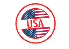 USA Rubber Stamp royalty free illustration