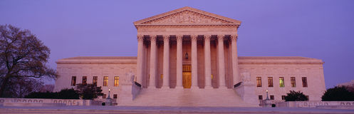 USA Sąd Najwyższy budynek Zdjęcie Royalty Free