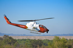 USA służby leśne - AH-1 Bell 209 kobra Zdjęcia Royalty Free