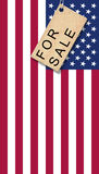 USA for Sale Stock Photography