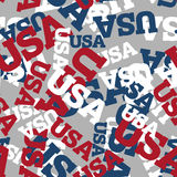 USA seamless pattern. National background. American texture. Pat Stock Photos