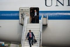 USA sekretarka obrona James Mattis przyjeżdżał w Kyiv Obrazy Royalty Free