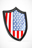 Usa shield Stock Photography