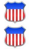 USA Shields Stock Image