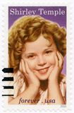 USA - 2016: shower Shirley Temple Black 1928-2014, television a Royaltyfri Foto