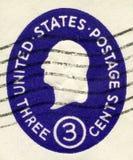 USA - 1950: showpresident George Washington Arkivbild