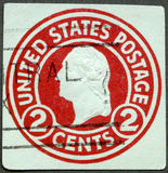 USA - 1916: showpresident George Washington Arkivfoton