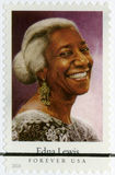 USA - 2014: shows Edna Lewis 1916-2006, chef, author, and television personality Royalty Free Stock Images