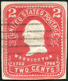 USA - 1903: Shows Präsident George Washington Lizenzfreie Stockbilder