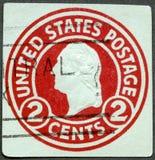 USA - 1916: shows President George Washington Stock Photos