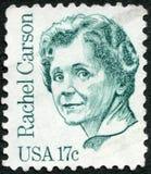 USA - 1981: shows Rachel Louise Carson (1907-1964) Stock Images