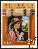 USA - 1993: shows Rebecca of Sunnybrook farm by Kate Douglas Wiggin, Classic Books