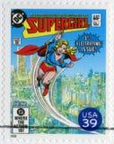 USA - 2006: Shows Supergirl, Reihe die DC-Comics Lizenzfreie Stockfotos