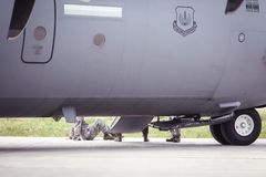 USA siły powietrzne samolot Zdjęcie Stock