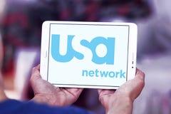 Usa sieci logo Zdjęcie Royalty Free