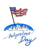 USA självständighetsdagen Royaltyfria Bilder