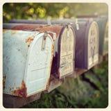 USA skrzynek pocztowa instagram Obrazy Royalty Free