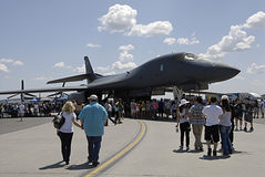 USA skyfest 2014 Royalty Free Stock Photography