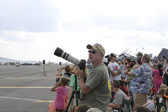 USA skyfest 2014 Royalty Free Stock Photo