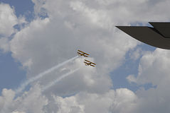 USA skyfest 2014 Stock Photography