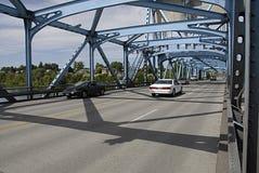 USA_SNAKE RIVER BRIDGE Royalty Free Stock Photos
