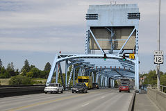 USA_SNAKE RIVER BRIDGE Royalty Free Stock Image