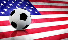 USA Soccer Royalty Free Stock Images
