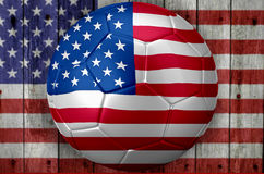 USA Soccer world cup Royalty Free Stock Photography