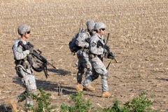 USA-soldater arkivbild
