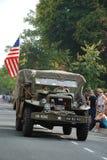 USA-soldatNijmegen brige Royaltyfri Foto