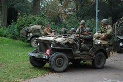 USA-soldatNijmegen brige Royaltyfria Foton