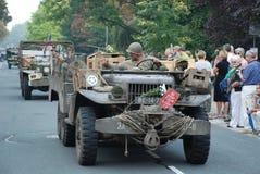 USA-soldatNijmegen brige Arkivfoto