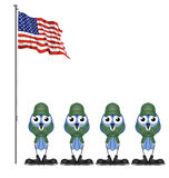 USA soldiers Royalty Free Stock Images