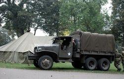 Usa soldiers Nijmegen brige Royalty Free Stock Photo