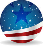 Usa sphere Stock Photo