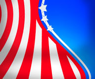 USA Stage Background Stock Photography