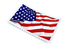 USA stamp Royalty Free Stock Photo