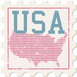 USA Stamp Royalty Free Stock Photo