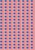 USA stamps Stock Image