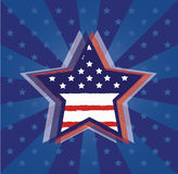 USA star Stock Images