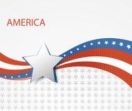 USA star flag design elements vector Royalty Free Stock Photos