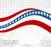 USA star flag design elements vector Stock Image