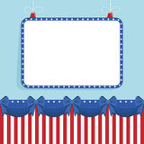 Usa star frame Stock Photos