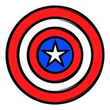 USA star icon cartoon Stock Images
