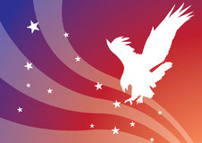 Usa stars easle Stock Images
