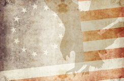 Usa 13 stars 3. Us flag with 13 stars and eagle Royalty Free Stock Image