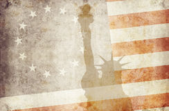 Usa 13 stars 2. Us flag with 13 stars and liberty Royalty Free Stock Images