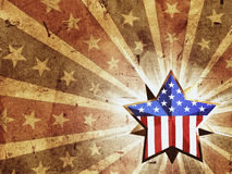 USA-STERN lizenzfreie abbildung
